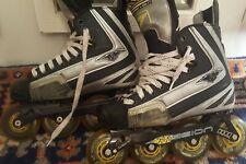 "🎖 Mission ""Wicked Light 7"" Inline Roller Hockey Skates SZ 6D Very Rare 🎖"