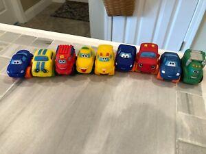 Lot 9 Playskool Tonka Chuck & Friends Cars & Trucks Mini Size Soft Toys