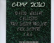 CD	E-DAY 2010	CARDSLEEVE EX  	AMBIENT	DAVID WRIGHT / CALLISTO  (A4882)