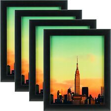 Craig Frames 1WB3BK 24 by 36-Inch Picture Frame 4-Piece Set, Smooth Finish, 1-Inch Wide, Black
