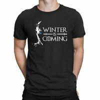 Winter is Coming Movies T-Shirt GOT T-shirt Inspired Mens Ladies Top T