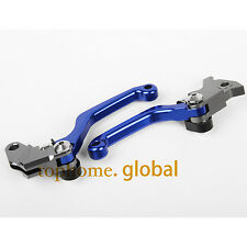 For Yamaha WR250R WR250X 2007-2017 Pivot Clutch Brake Levers Blue CNC