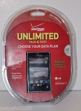Verizon Unlimited Talk & Text No Annual Contract LG Optimus Zone Prepaid Phone
