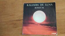 45T vintage - Boney M - Kalimba de luna - ten thousand ligth years