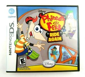Phineas and Ferb: Ride Again Nintendo DS 2010 Complete