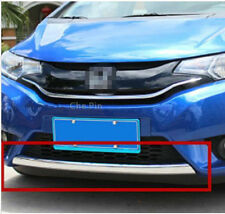 Chrome Front Grille Bottom cover trim 1pcs For Honda FIT JAZZ 2014 2015 2016