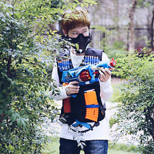 Tactical Vests Kids Toy Gun Clip Jacket Foam Bullets Ammunition Holder For Nerf