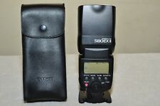 Canon Speedlite 580EX II Shoe Mount Flash for Canon Cameras w/ Case_ EXCELLENT!!