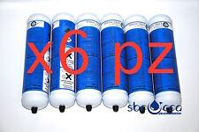 6 Bombola co2 E290 600 gr 0,95L monouso gasatore acqua marca eurotre usa e getta
