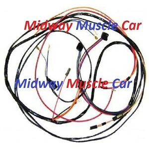 power window wiring harness     70 71 Chevy Corvette    350 454 ncrs