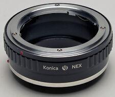 Konica AR Objektiv Zu Sony NEX-7 NEX-5N NEX-3 NEX-5 NEX-VG10 E Mount Adapter NEU