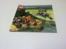 Lego 8630 Agents Gold Hunt Instruction Manual Book Only