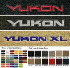 Lloyd Mats GMC Yukon & Yukon XL Custom Velourtex Front Floor Mats (1992 & Up)