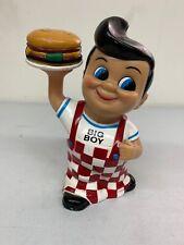 Vintage Big Boy Restaurant Coin Bank 2001 Collectible toy hamburger