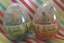 🐇2 PETER RABBIT EASTER EGG BLUE & PINK OFFICIAL MOVIE MERCHANDISE NEW 2018🐇