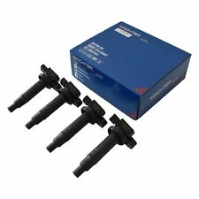 4x Ignition Coil fit for Toyota Yaris NCP90/91/93 '05-'13 4 Cyl. 1.3/1.5L 2NZ-FE