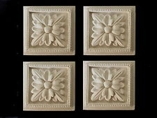 ORNATE DECORATIVE WHITE RESIN FOUR SQUARE FURNITURE MOULDINGS