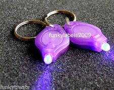 *UV LED Torch Fake Money Card Detector light bag spy gift can spot dirt*