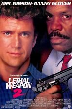 LETHAL WEAPON 2 -original 27x40 movie poster-MEL GIBSON