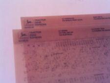 John Deere Parts Catalog 2840 Microfiche Fiche Manual