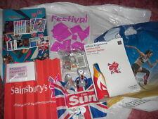 London 2012 olympics programme,50p's,relay coke bottle,rrp £50+RARE NOT sochi 14