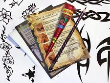 Henna TATTOO KIT, grandi disegni pronti ad utilizzare buona SCURO colorazione Henné TWA