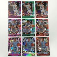 2020 PANINI PRIZM COLE ANTHONY RC CARD LOT (9) PURPLE WAVE SILVER REFRACTOR RED