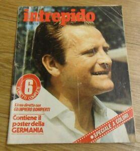 Intrepido N. 19 del 1978 Boniperti - Juve Speciale 18 Scudetti ! Buono! ▓