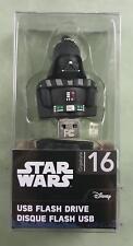 STAR WARS DARTH VADER, USB 2.0, FLASH DRIVE, BACKWARDS COMPATABLE (SHIPS FREE)*