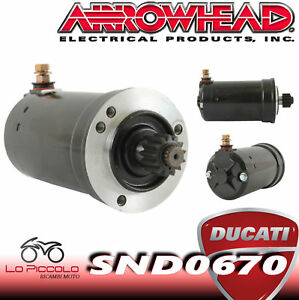 Motor de Arranque Starter Ducati SS800 Supersport 800 2006 2007
