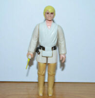Vintage STAR WARS LUKE SKYWALKER FARM BOY Action Figure 1977 Hong Kong Complete