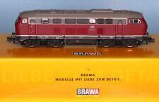 Brawa 61208, Spur N, Diesellok DB BR 216 118-0, altrot, 4-achsig, Epoche 4