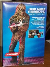 Original USA 1990's SCREAMIN' STAR WARS CHEWBACCA Vinyl figure model kit 1/4