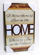 HOME  Inspirational  Wall Picture,Wall Plaque( NEW)