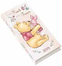 Winnie The Pooh Slim Diary 2019 Entertainment Week To View