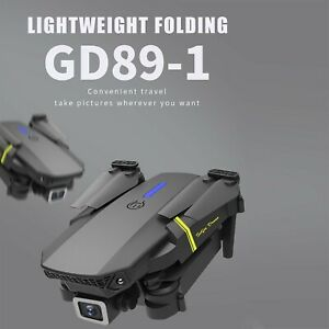 GD89-1RC Drone with Camera 4K HD Single Lens  2.4 GHz WiFi FPV RC Quadrocopter