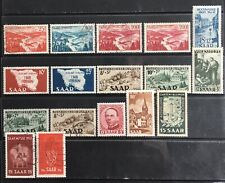 Germany 1948-1952 Saar issues MNH/MLH & Used