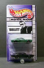 "Custom HotWheels charger mustang 2-PACK  of  Mcqueens ""Movie Metal""   BULLITT"
