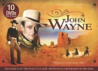 John Wayne: America's Legendary Hero [10 DVD box set]
