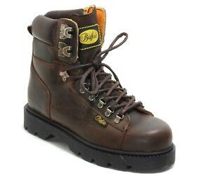 135 Schnürschuhe Wanderschuhe Leder High Ankle Boots Alpine Trapper Buffalo 41