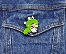 Super Mario Bros 3 Collector Pin - Frog Mario - Switch 3DS Wii U Snes NES  2