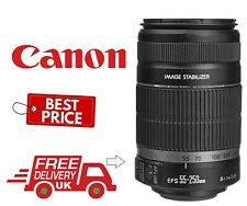 Canon EF-S 55-250mm F4-5.6 IS STM Telephoto Zoom Lens (UK Stock)