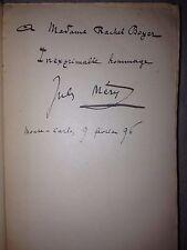 J. MERY/la geste de russie /LA DEGRINGOLADE DU DIABLE (légende ) /1895 -dedicace