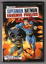 DVD ★ SUPERMAN BATMAN ENNEMIS PUBLICS ★ DC UNIVERSE
