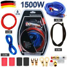 10AWG Car-Hifi Kabelset Verstärker KFZ AUTO Endstufe Subwoofer Kabel Kit Chinch