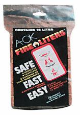 Fire Liters  A OK  Fire Starter  12 pk