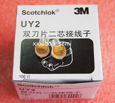 100pcs ORIGINAL 3M UY2 Butt Type Scotchlok Connector Grease Filling Butt Wire