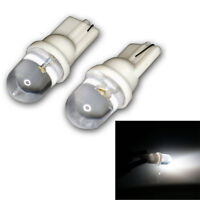 6X T10 194 W5W 1 Led Pure White Dome Fcnstrument Lampe Ampoule De Voiture JE