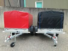 6X4 Brand New Trailer Box Small Camping Car Trailer +  80CM Top Cover