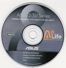 ASUS A8N32-SLi DEUXE Motherboard Drivers Installation Disk M658